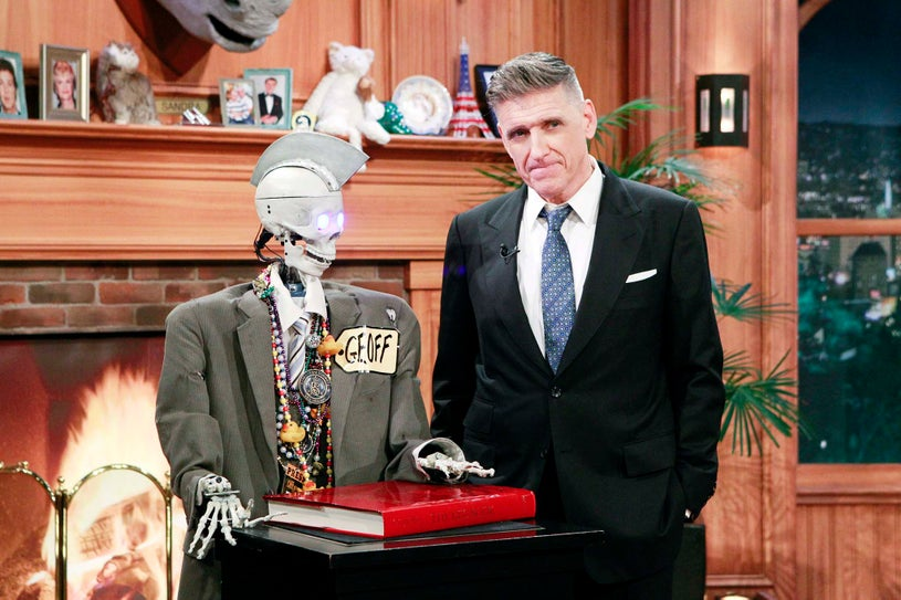 The Late Late Show with Craig Ferguson - Geoff Peterson and Craig Ferguson