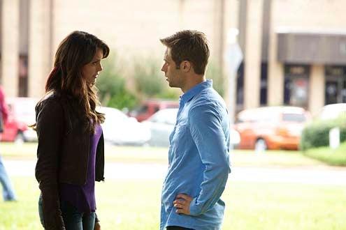 "The Vampire Diaries - Season 5 - ""The Cell"" - Nina Dobrev and Shaun Sipos"
