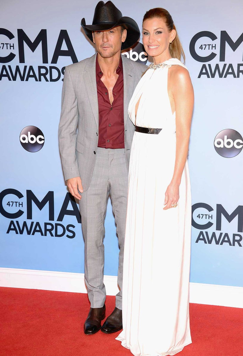 Tim McGraw and Faith Hill - 47th Annual CMA Awards in Nashville, Tennessee, November 6, 2013
