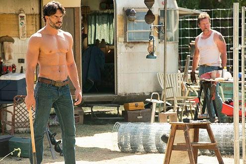 "True Blood - Season 5 - ""Save Yourself"" - Joe Manganiello and Robert Patrick"