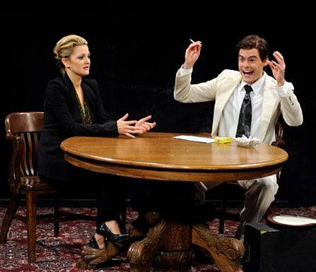 "Saturday Night Live - Season 35 - ""Drew Barrymore"" Episode 1557 - Drew Barrymore, Bill Hader"