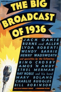 The Big Broadcast of 1936 as Captain