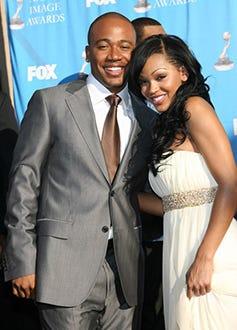 Columbus Short and Meagan Good -  NAACP Image Awards, March 2007