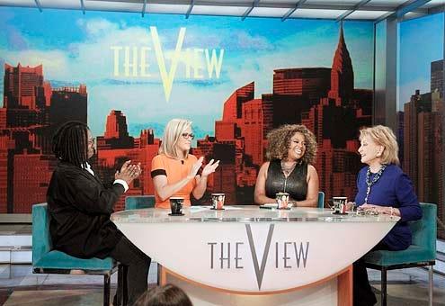 The View - Season 17 - Whoopi Goldberg, Jenny McCarthy, Sherri Shepherd and Barbara Walters