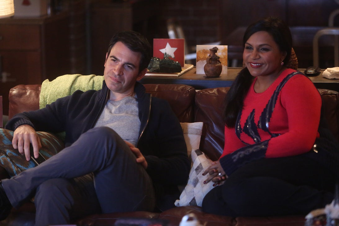 Chris Messina and Mindy Kaling, The Mindy Project
