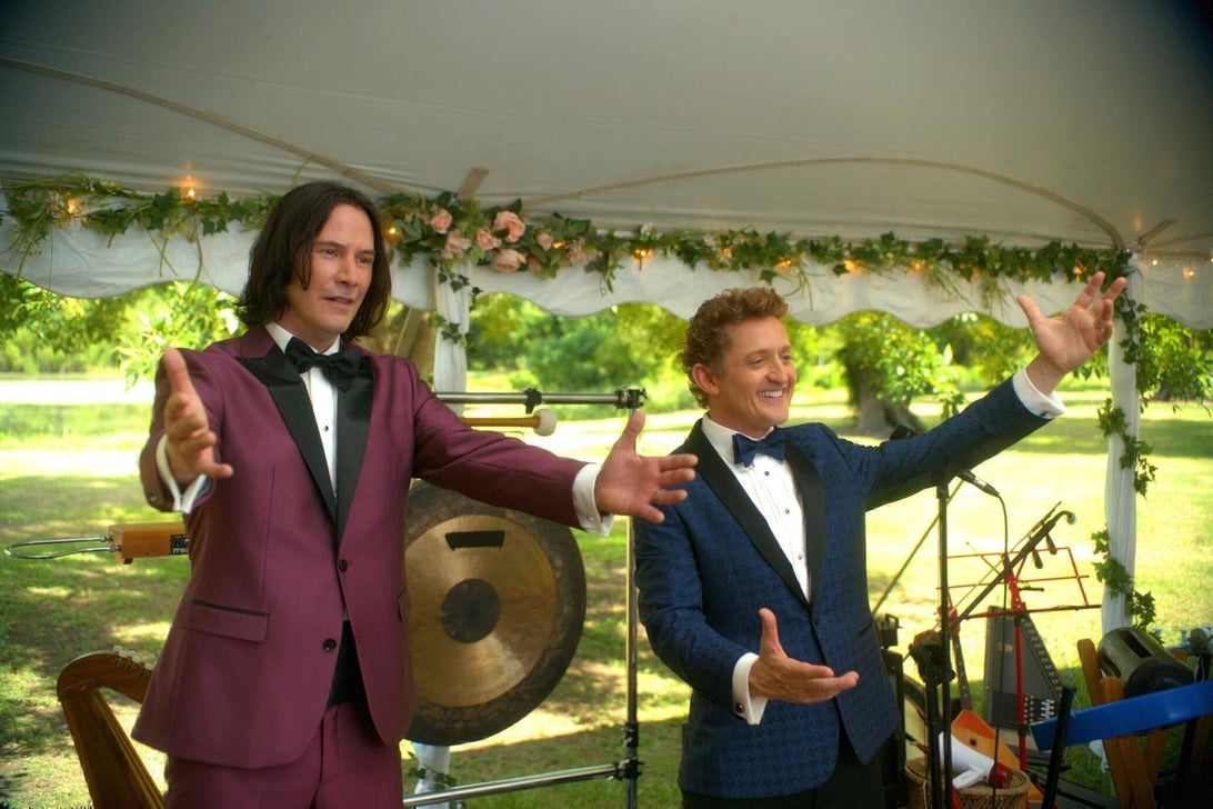 Keanu Reeves and Alex Winter, Bill & Ted Face the Music