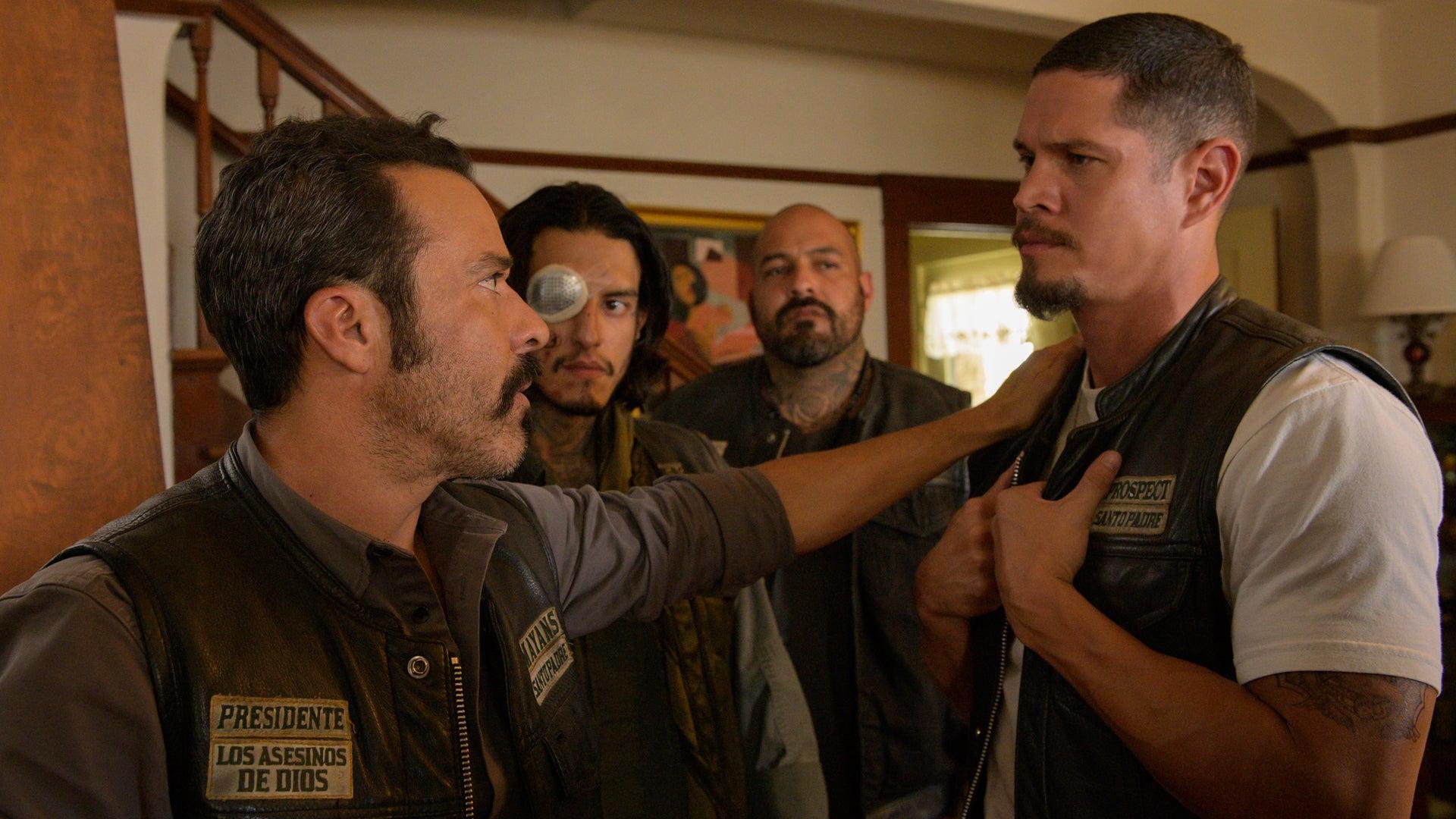 Michael Irby, Richard Cabral, Vincent Rocco Vargas, and JD Pardo, Mayans MC