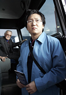"Heroes - ""Unexpected"" - Stan Lee as Bus Driver, Masi Oka as Hiro Nakamura"