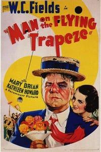 "Man on the Flying Trapeze as ""Legs"" Garnett"