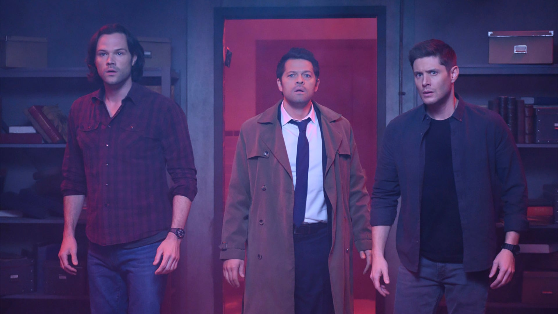 ​Jared Padalecki, Misha Collins, and Jensen Akcles, Supernatural