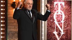 Robert De Niro at the 2018 Tony Awards: 'F--k Trump'