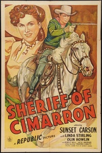 Sheriff of Cimarron as Pinkly Snyder