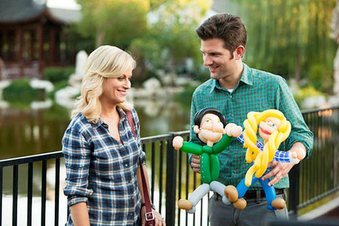 "Parks and Recreation - Season 5 - ""Pawnee Commons"" - Amy Poehler and Adam Scott"