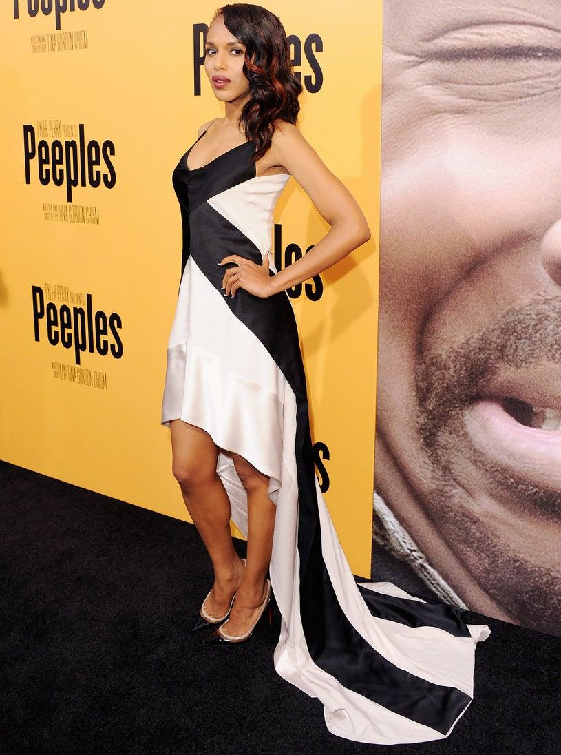 "Kerry Washington - Los Angeles Premiere ""Peeples"" in Hollywood, California, May 8, 2013"