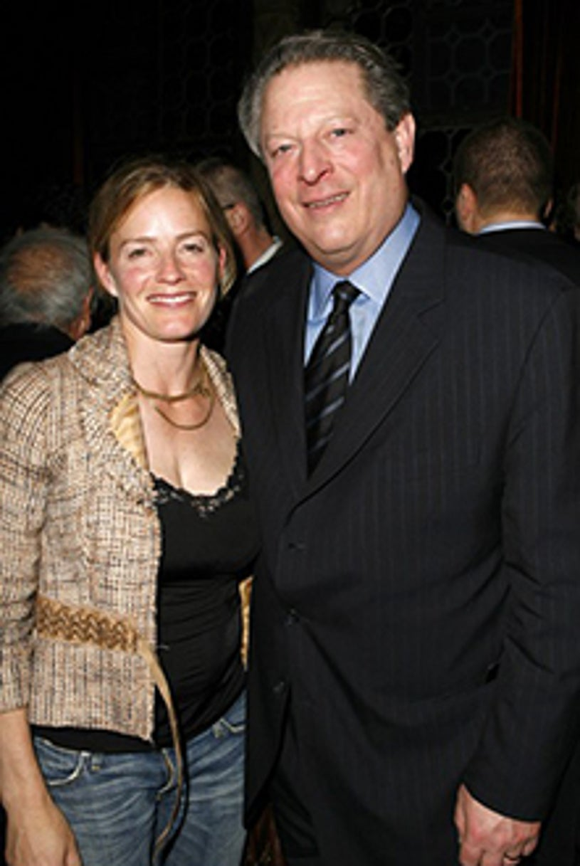 Elisabeth Shue and Al Gore - The Entertainment Weekly 2007 pre-Oscar party, February 22, 2007