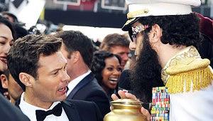 "Ryan Seacrest: Sacha Baron Cohen Gave ""Genuine"" Apology for Oscars Incident"