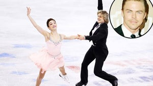 """Derek Hough: """"It Was an Honor"""" to Work on Meryl Davis and Charlie White's Olympic Routine"""
