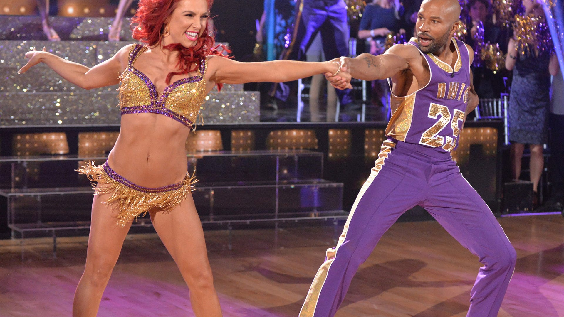 Sharna Burgess and Derek Fisher, Dancing with the Stars