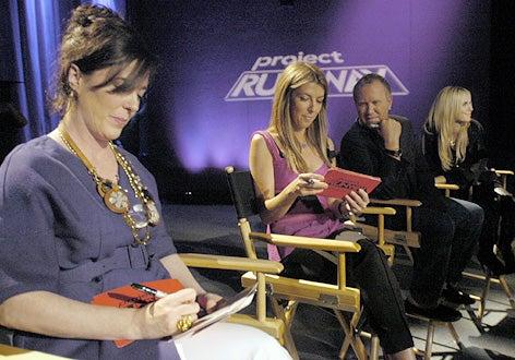 Project Runway - Season 3 - Kate Spade, Nina Garcia, Michael Kors, Heidi Klum