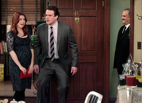 """How I Met Your Mother - Season 7 - """"Now We're Even"""" - Alyson Hannigan, Jason Segel"""