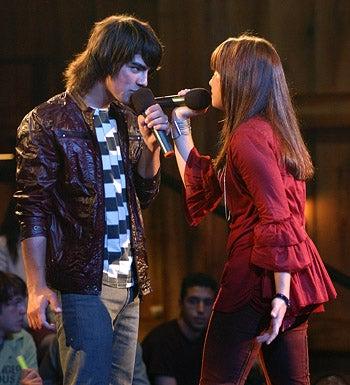 Camp Rock - Demi Lovato as Mitchie and Joe Jonas as Shane
