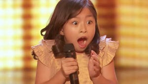 America's Got Talent: Laverne Cox Stuns Adorable 9-Year-Old Singer With Golden Buzzer