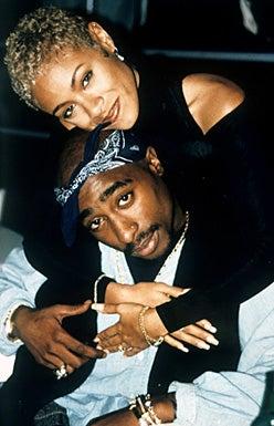 Tupac Shakur and Jada Pinkett -  1996