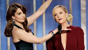 VIDEO: Amy Poehler and Tina Fey Slam James Cameron in Golden Globes Opener