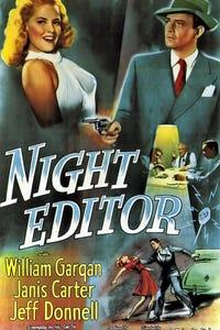 Night Editor as Tony Cochrane