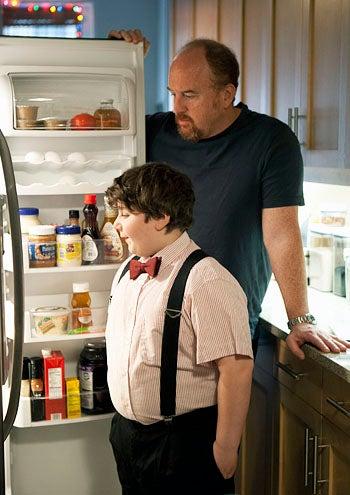 "Louie - Season 3 - ""Never"" - Jeremy Shinder and Louis C.K."
