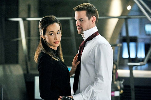 "Nikita - Season 3 - ""The Swords Edge"" - Maggie Q and Shane West"