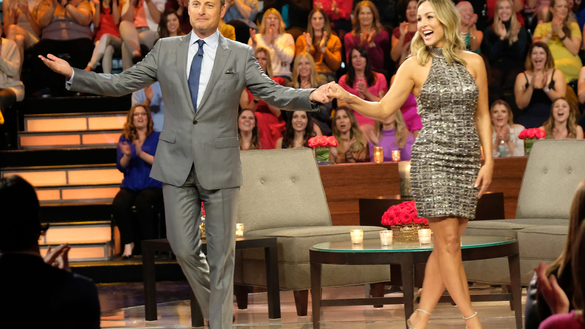 Chris Harrison and Clare Crawley, The Bachelor