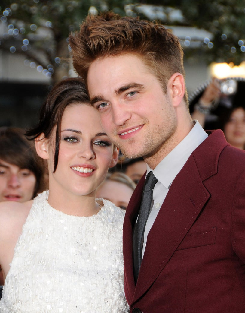 """Kristen Stewart and Robert Pattinson arrive at the 2010 Los Angeles Film Festival """"Twilight Saga: Eclipse"""" premiere held at Nokia Theatre L.A. Live on June 24, 2010"""