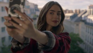 Netflix's Emily in Paris Teaser Gives Lily Collins Her Moulin Rouge Moment