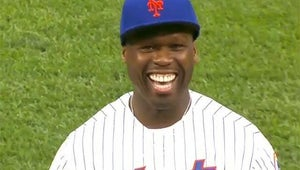 Top Videos: 50 Cent's Pathetic First Pitch, Will Ferrell and Chad Smith's Drum-Off
