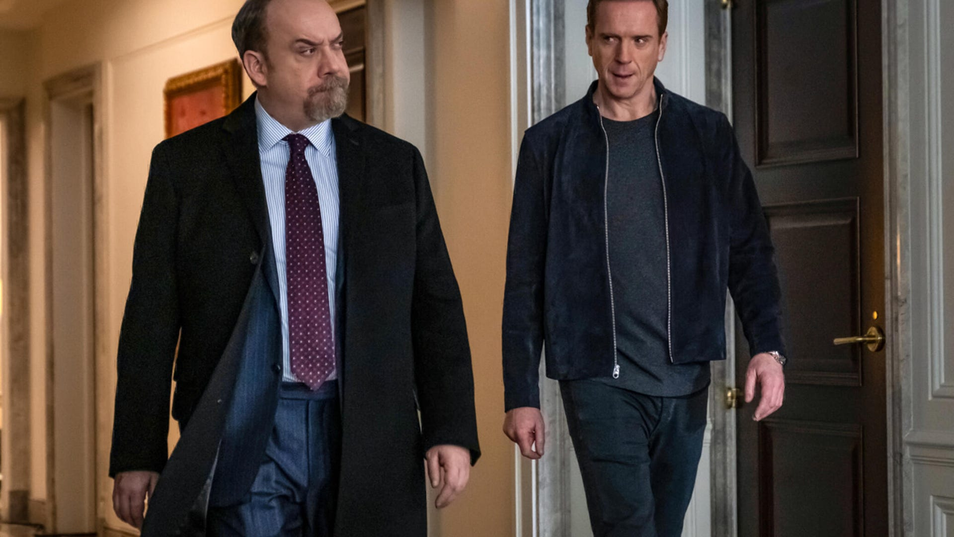 Paul Giamatti and Damian Lewis, Billions