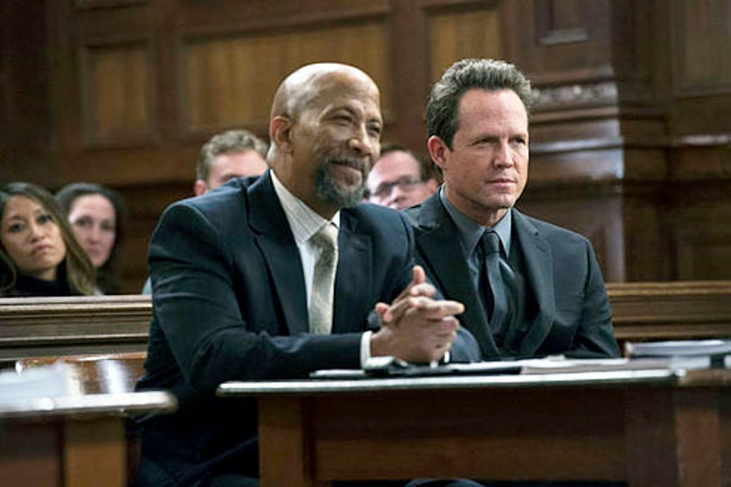 """Law & Order: Special Victims Unit - Season 14 - """"Undercover Blue"""" - Reg E. Cathey and Dean Winters"""