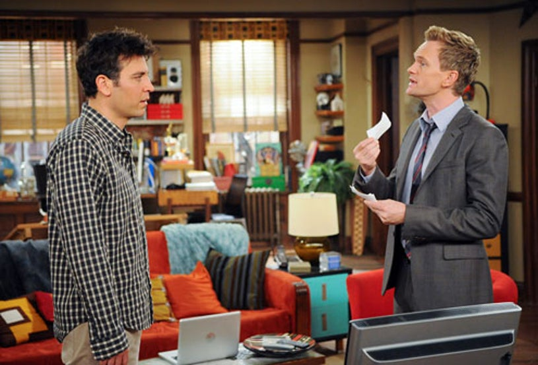"How I Met Your Mother - Season 7 - ""No Pressure"" - Josh Radnor, Neil Patrick Harris"