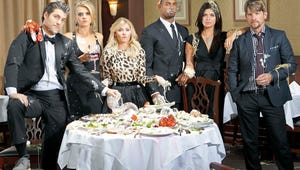 """Happy Endings Cast Reunites for """"Lost Episode"""" -- with a Jaw-Dropping Twist"""