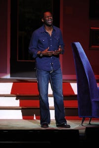Brian McKnight as Young Clarence/Old Clarence
