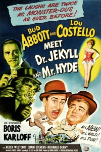 Abbott and Costello Meet Dr. Jekyll and Mr. Hyde as Chimney Sweep