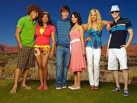 High School Musical 2 - Corbin Bleu, Monique Coleman, Zac Efron, and Vanessa Hudgens