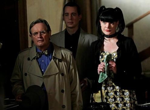 "NCIS - Season 9 - ""Life Before His Eyes"" - Pauley Perrette, Sean Murray and David McCallum"
