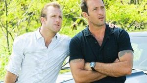 Exclusive Photos: The New Hawaii Five-0 Team – With Grover – Soaks Up the Sun