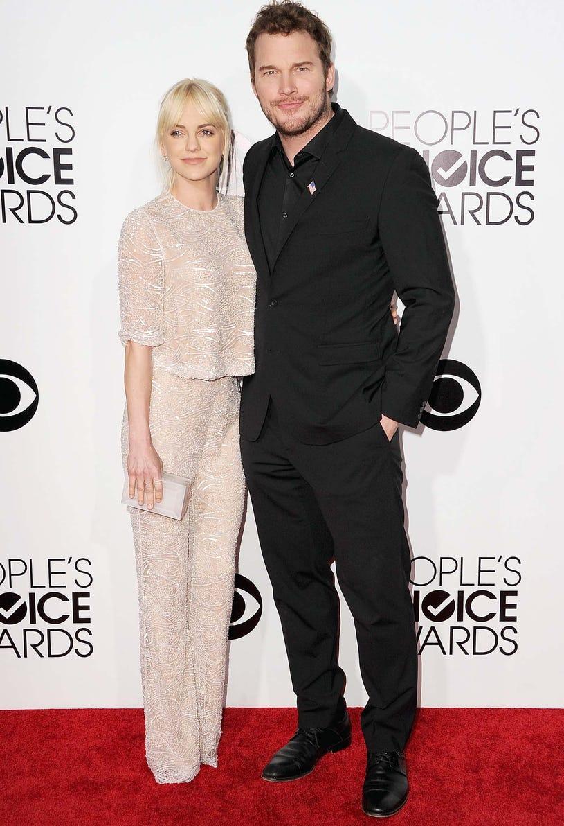 Anna Faris and Chris Pratt - 40th Annual People's Choice Awards in Los Angeles, California, January 8, 2014