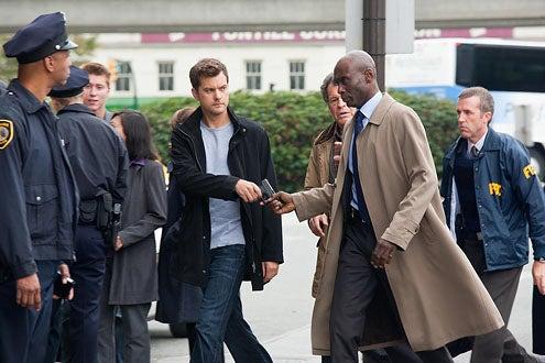 "Fringe - Season 3 - ""Entrada"" - Joshua Jackson, John Noble and Lance Reddick"