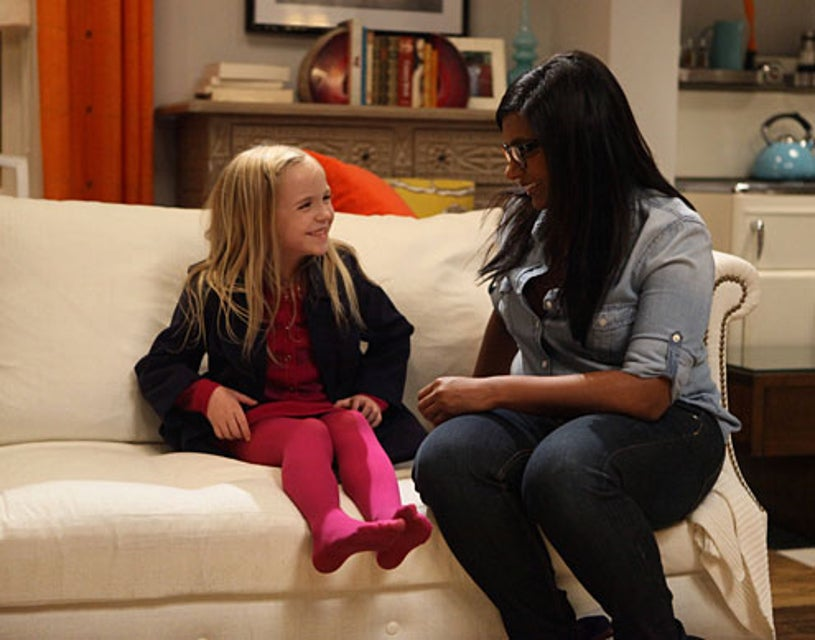 """The Mindy Project - Season 1 - """"Bunk Bed"""" - Avriella Ford, Mindy Kaling"""