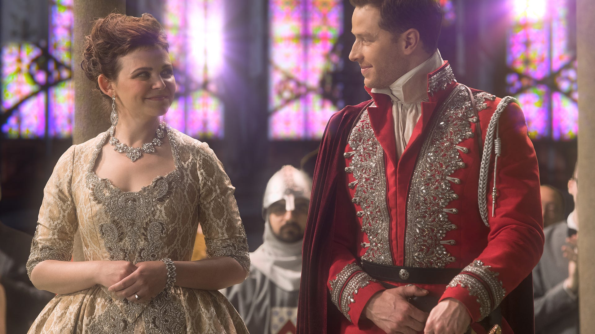 Ginnifer Goodwin and Josh Dallas, Once Upon a Time