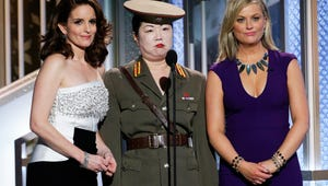 Golden Globes: Tina Fey, Amy Poehler Go Out with a Bill Cosby-Mocking Bang