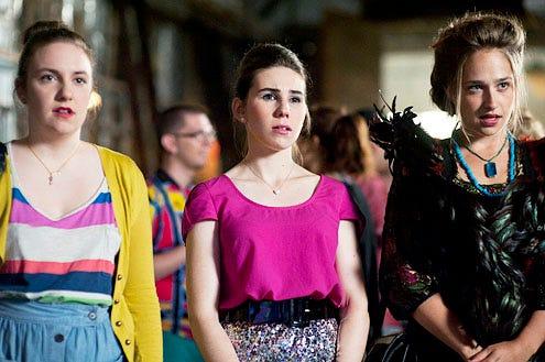 Girls - Season 1 - Lena Dunham, Zosia Mamet and Jemima Kirke